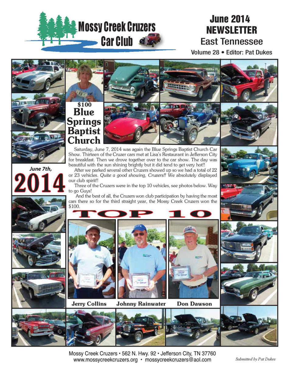 2014  Newsletter Page 1