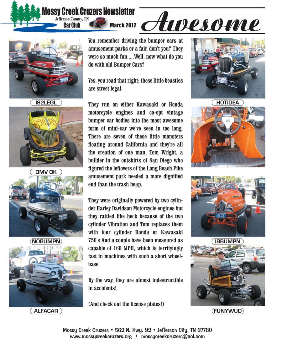 March 2012 Newsletter Page 7