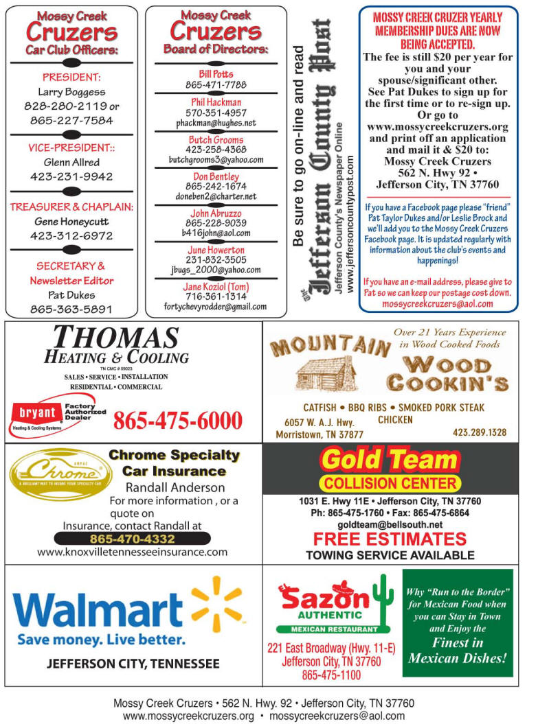 2013 Newsletter Page 4