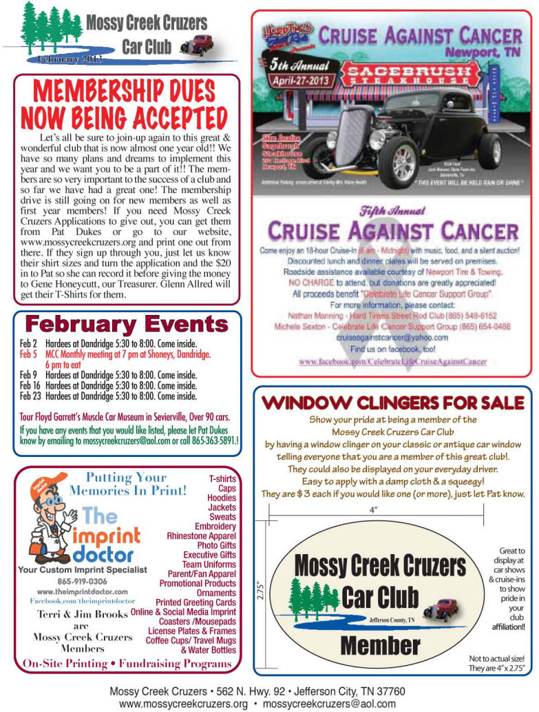 2013 Newsletter Page 5