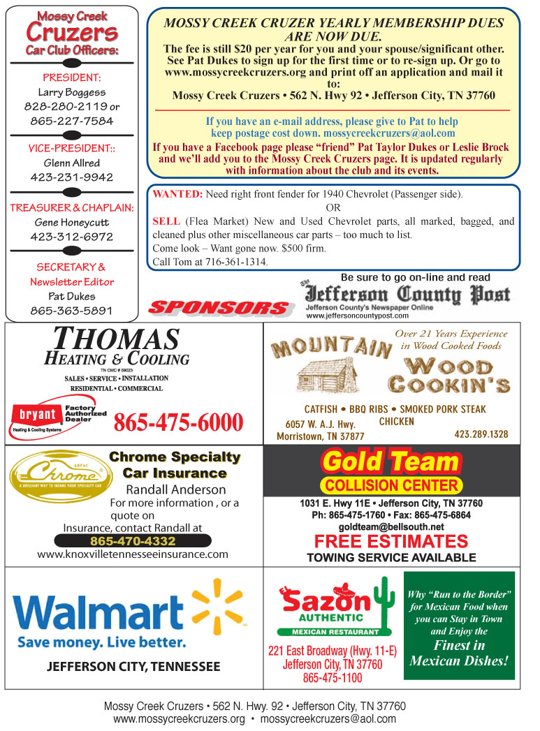January 2013 Newsletter Page 6