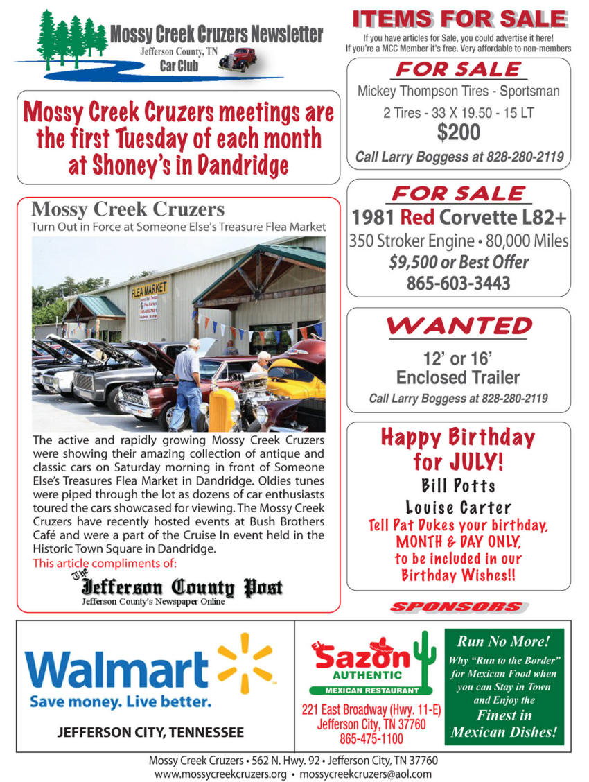 July 2012 Newsletter Page 6