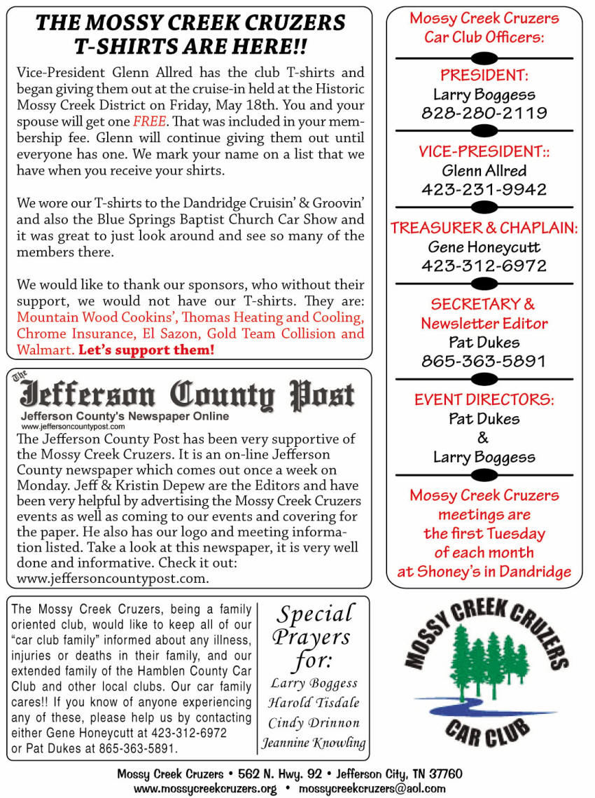 June 2012 Newsletter Page 6