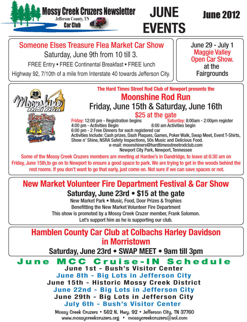 June 2012 Newsletter Page 8