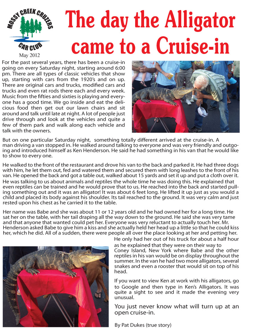 May 2012 Newsletter Page 7