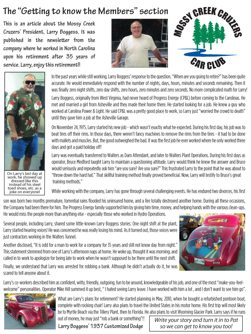 May 2012 Newsletter Page 5
