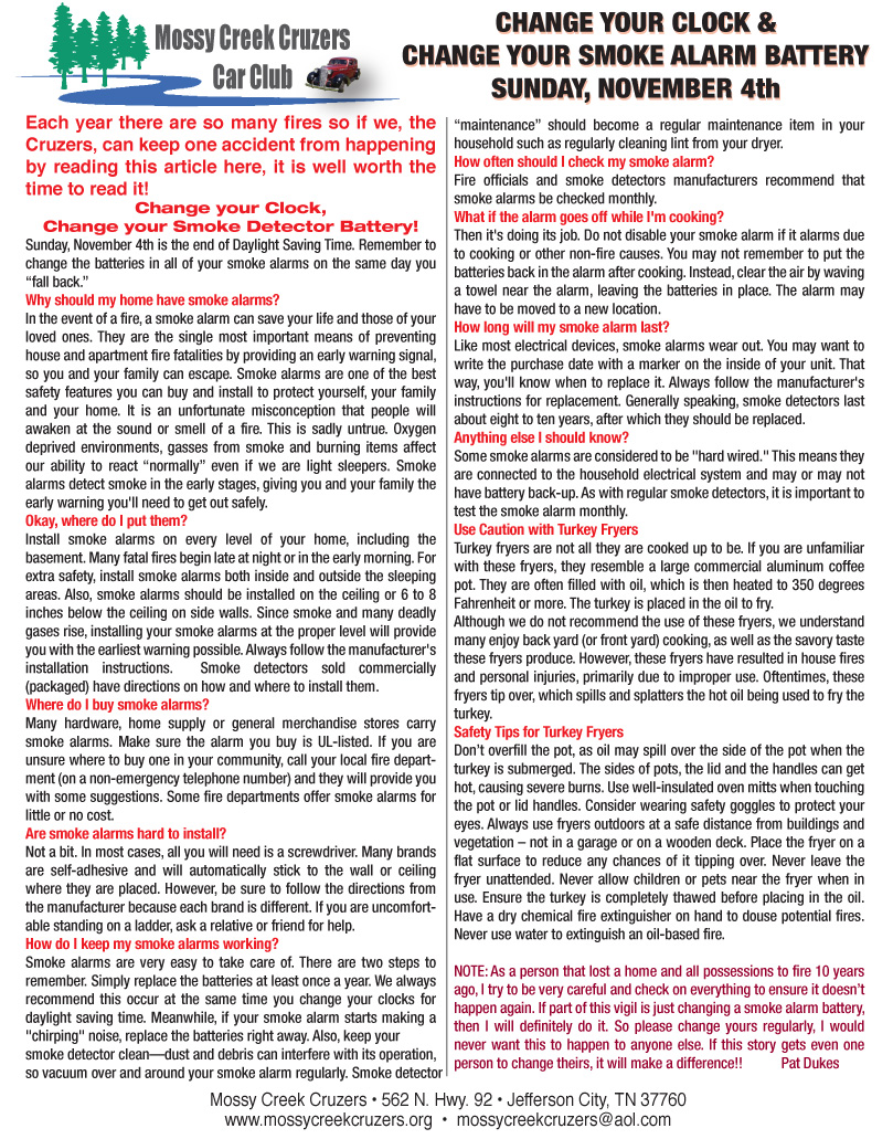October 2012 Newsletter Page 8